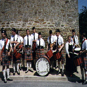 CALEDONIAN PIPE BAND