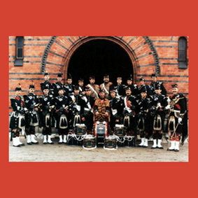 THE THISTLE PIPE BAND