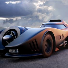 The Batmobile, Batman & Leif Alderskanz