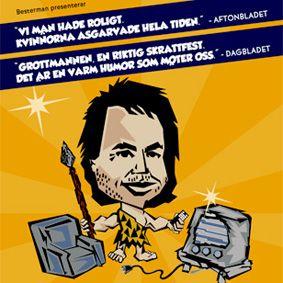 """Robert """"GROTTMANNEN"""" Samuelsson"""