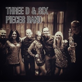Three D With Six Piece Band
