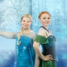 Sång och glädje med Frost-tema