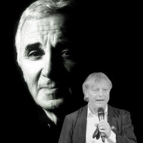 Peter Kleinwichs presenterar Charles Aznavour