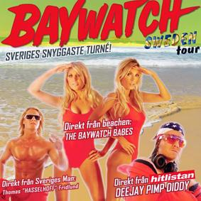 BAYWATCH SWEDEN TOUR